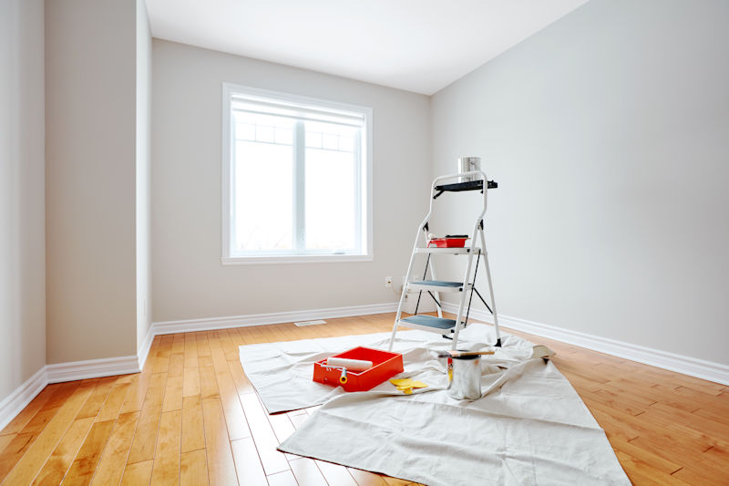 room ready for excellent painting